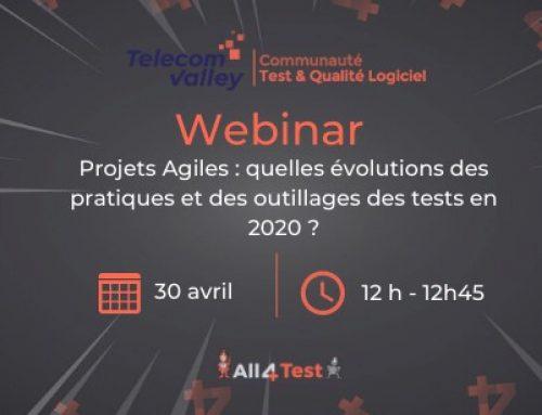 Webinar : Quelles évolutions dans le test logiciel en 2020 ?