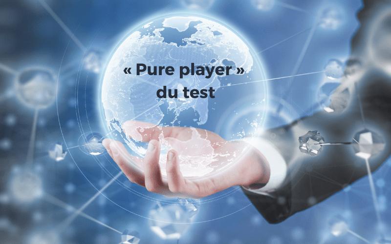 Pure Player Test Logiciel