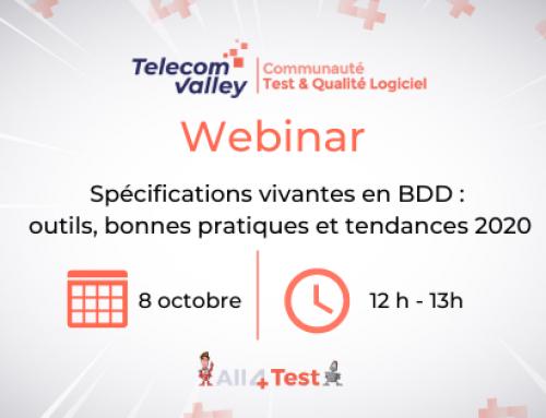 Spécifications vivantes en BDD : outils, bonnes pratiques et tendances 2020
